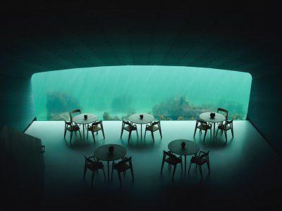 اولین رستوران در کف اقیانوس افتتاح شد